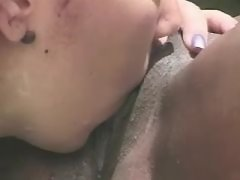 Smooth black lesbian girls have sex party black lesbian porn